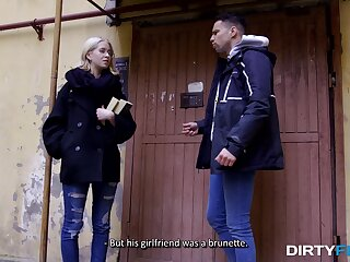Russian girl Regulated Victoria is fucked hard by verging on known dude