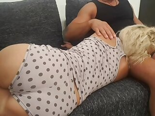 Blonde stepmom swell up stepsons learn of before anal sex