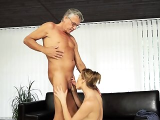 Old young ass skunk and virgin first era Sexual relations with her