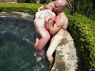 Amazing fucking in outdoors and indoors with stunning Melody Marks