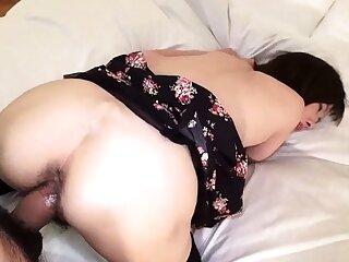 Amateur Asian Daughter blowjobs and jerking