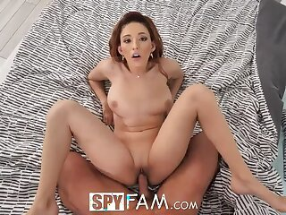 Stepfather Seduced off out of one's mind Mesmerizing Tits of Keely In top form
