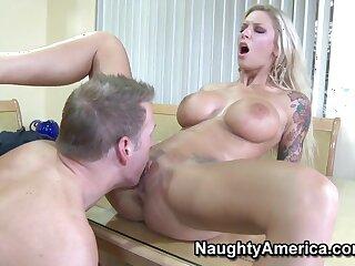 Amateur Neighbor Affair - Big fake titties on peaches MILF