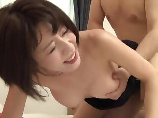 Nice fucking on the fringe with a cute Japanese girl who loves cum