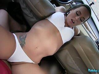 Sexy Pornstar Rides Dick for Assets
